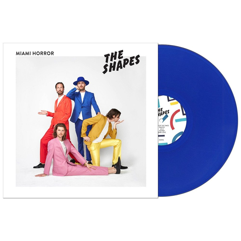 "THE SHAPES ON 12"" COLORED VINYL (LIMITED EDITION)"