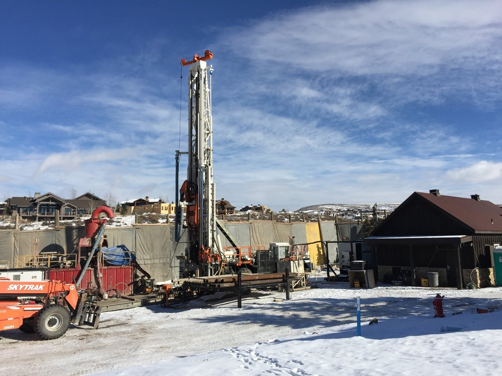 Drilling of the new Bison Bluff Well, November 2015 (Click photo to learn more!)