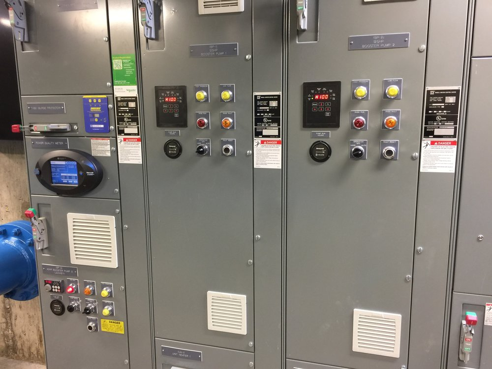 Typical Pump Control Panel
