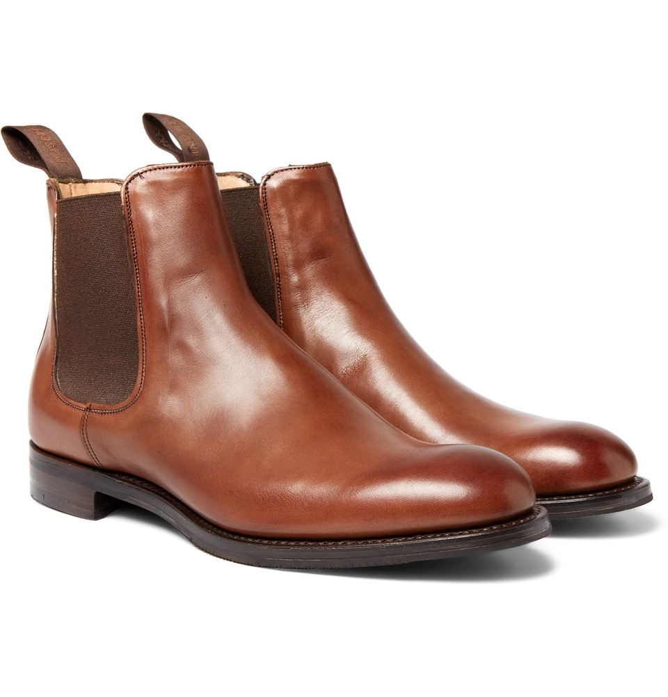 CHEANEY Godfrey Leather Chelsea Boots $615