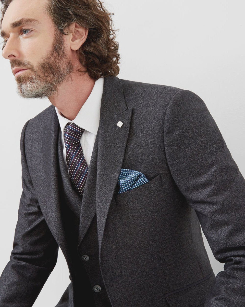 Ted Baker Wool Suit Jacket
