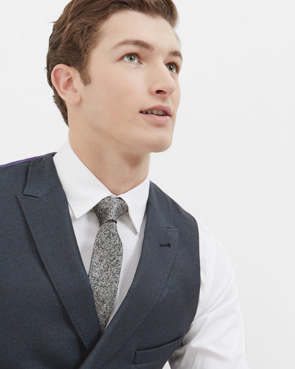 Ted Baker Double-breasted wool vest