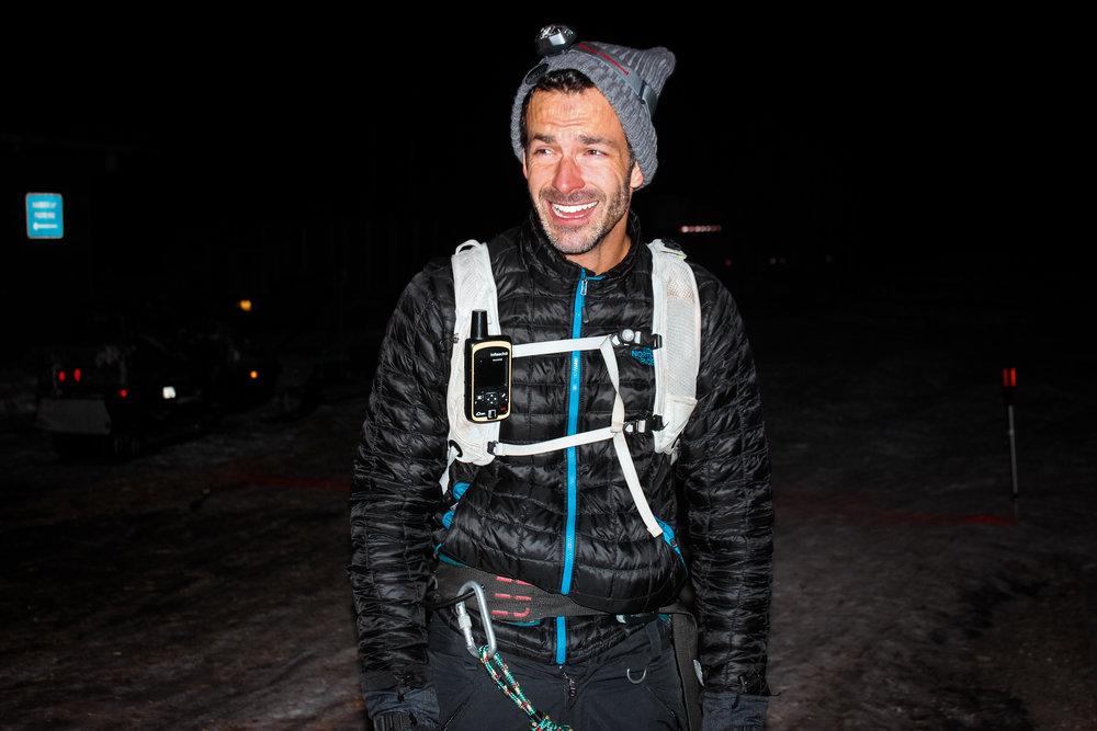 Ryan Young at end of Susitna 100. Wasilla, Alaska.