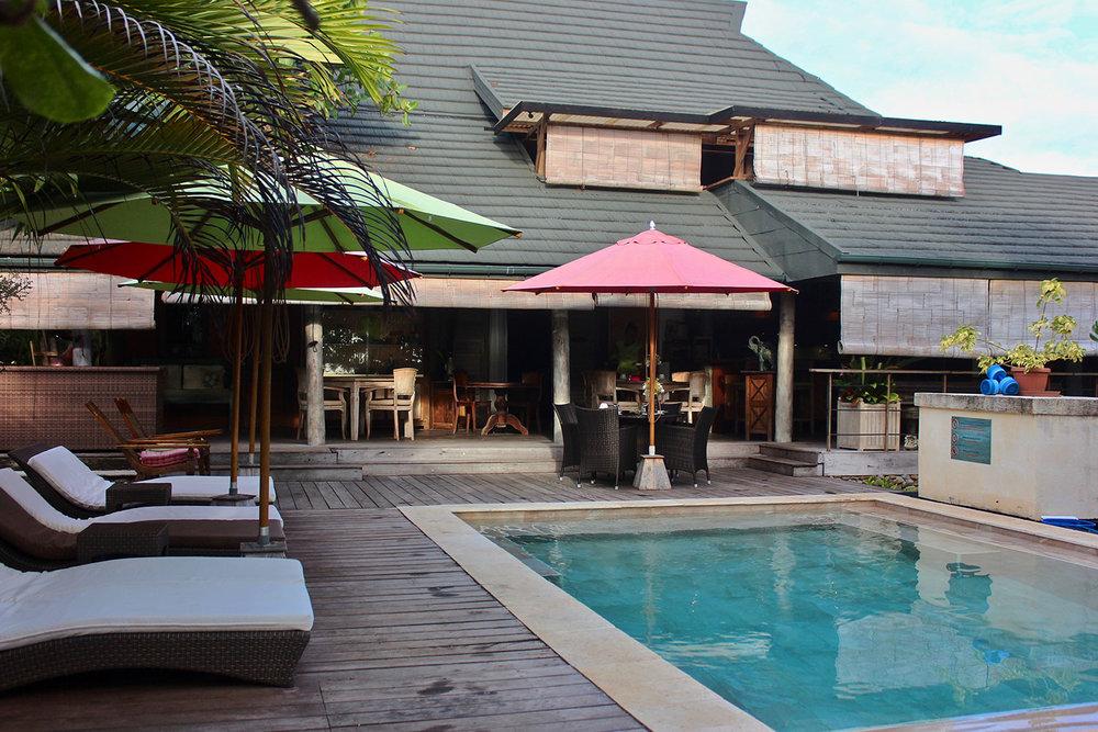 Green Lodge Pool Moorea