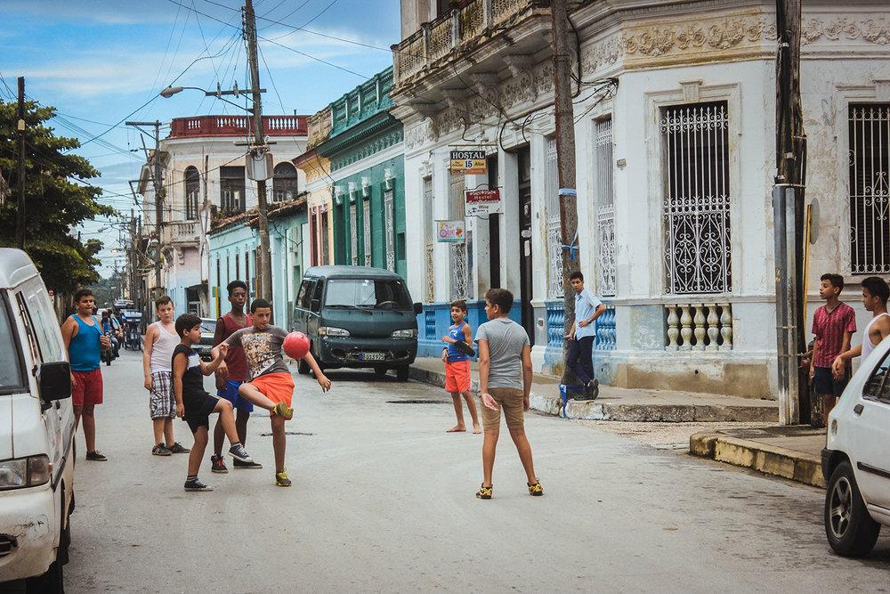 Santa Clara Kids Play Street