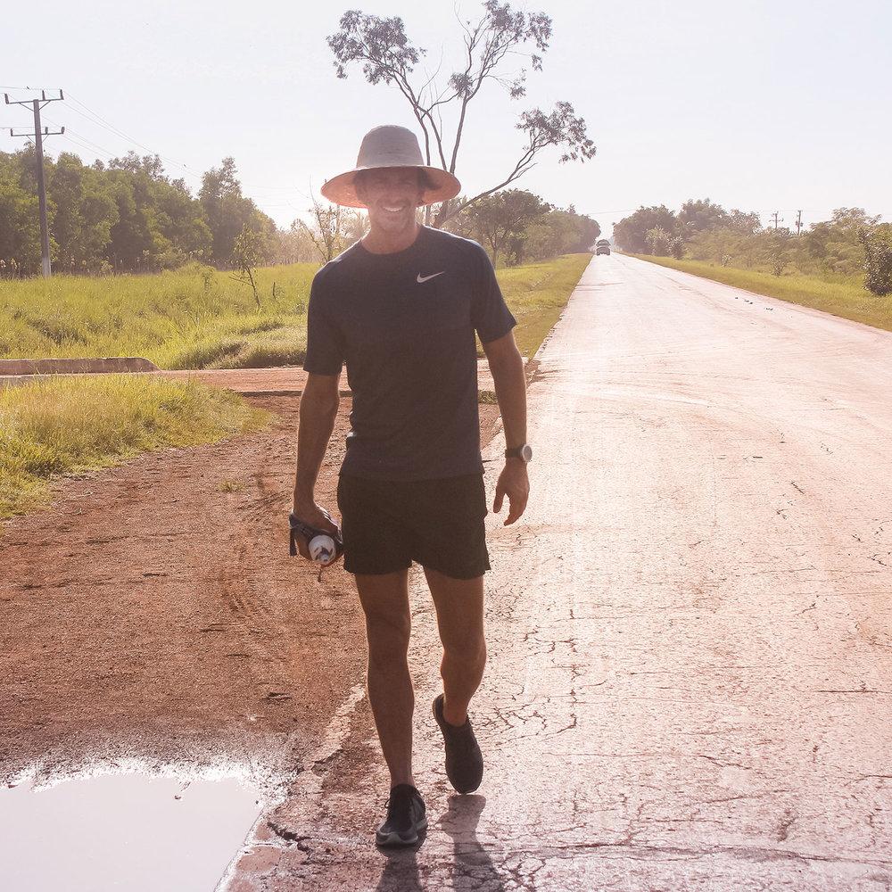 Runner Ryan Young Cuba Countryside