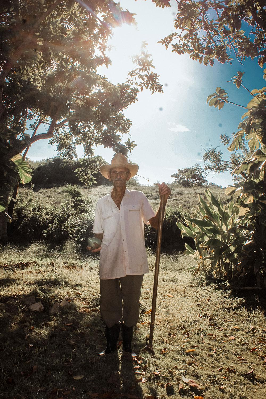 Old Man Caretaker in Cuba