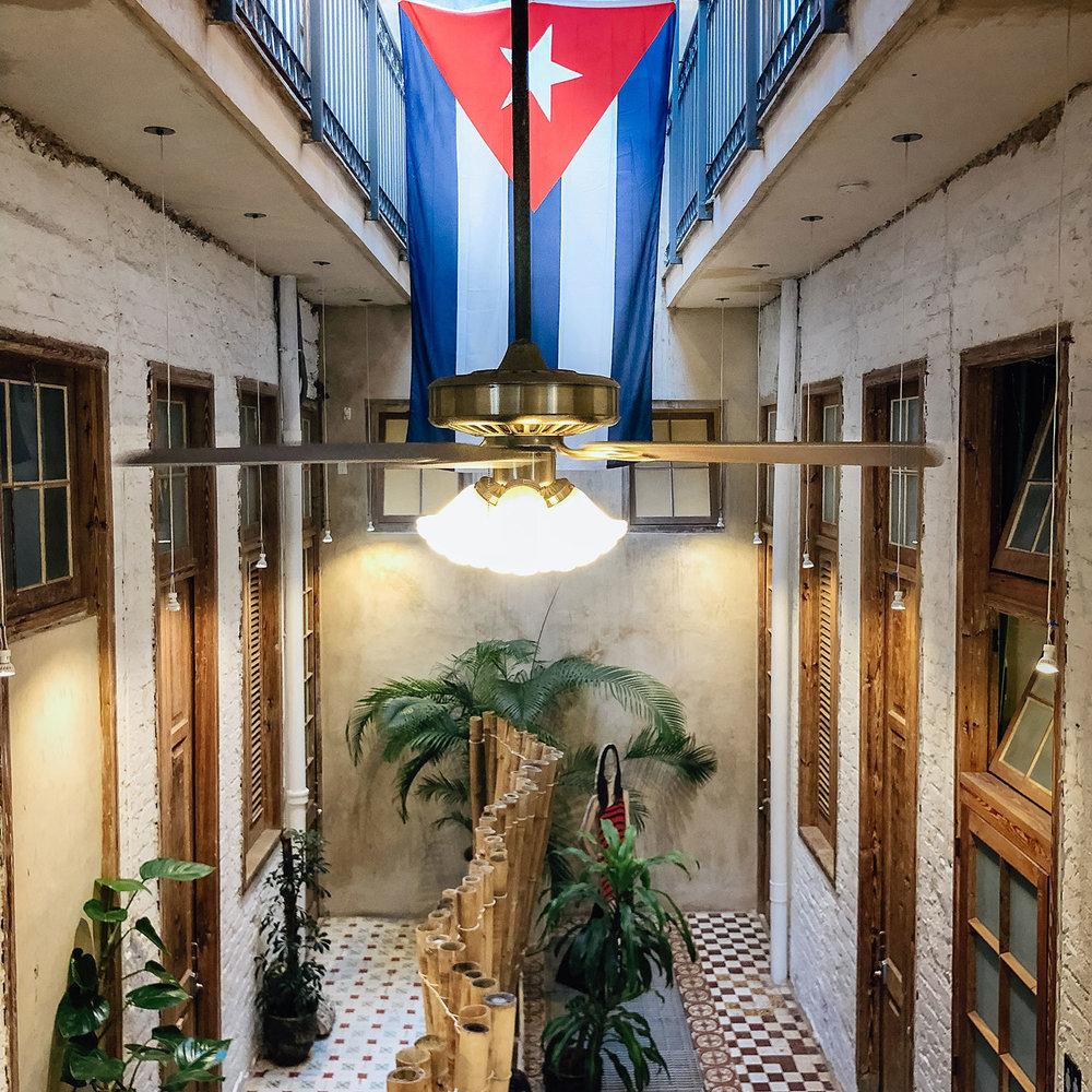Animas 303 hotel. Havana, Cuba