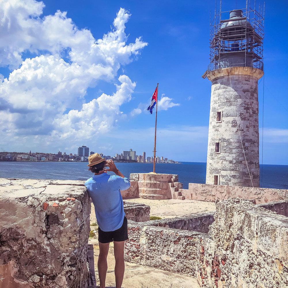 Ryan Young at Havana Fortress