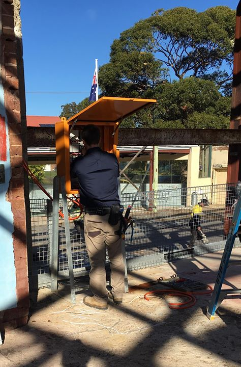 TEMPORARY POWER IS CONNECTED ON SITE AT BUNDEENA RSL.