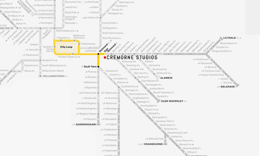 Train Map::