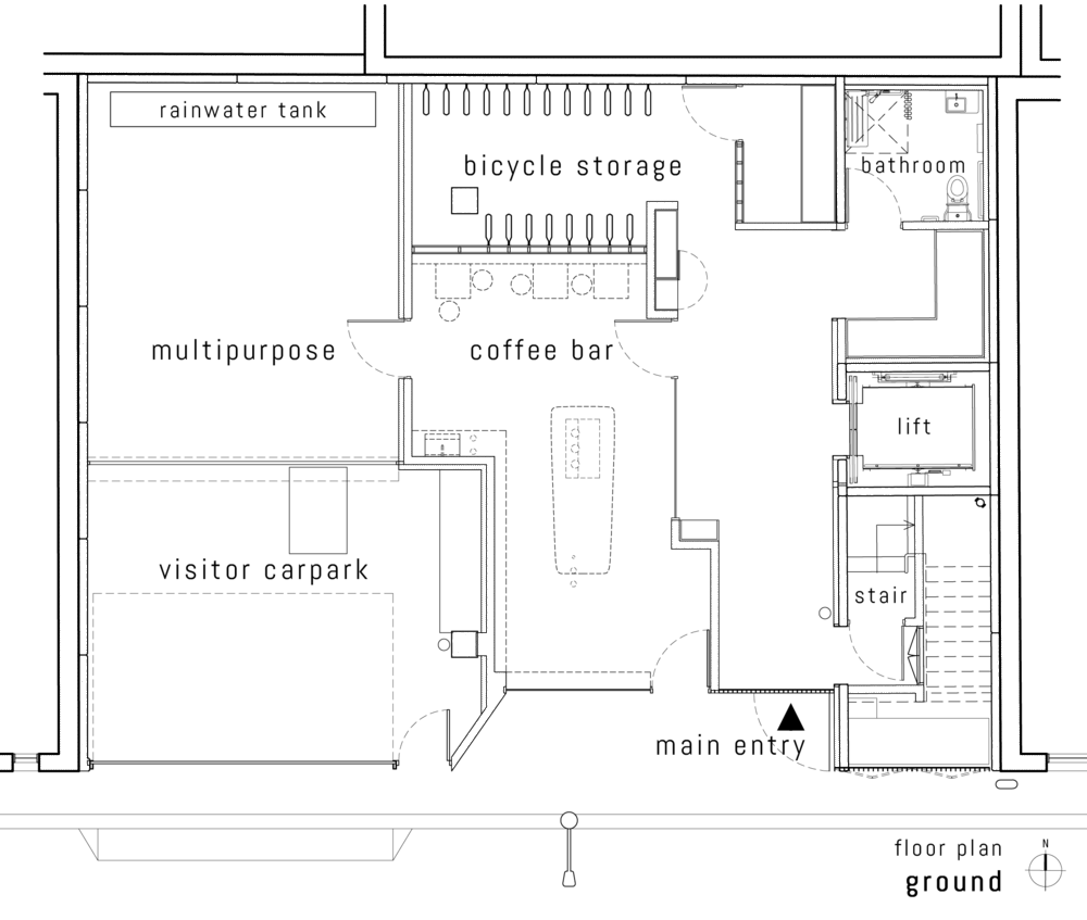 Ground Floor Plan::