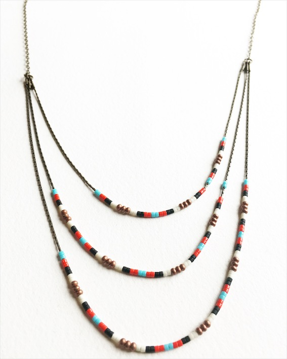 Necklace pictured is 24 in ($32)
