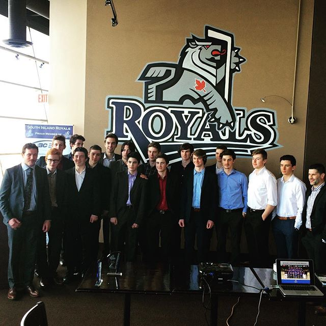 One last family photo for the 2016/2017 South Island Royals. To our parents; thank you for endless support. To our players; work hard where ever your path takes you. And to our coaches; thank you for impacting these boys on the ice and off.