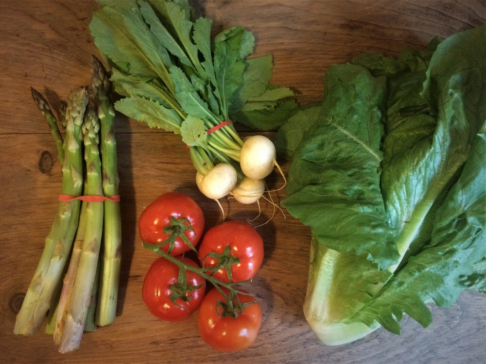 may csa deliveries || planting my roots