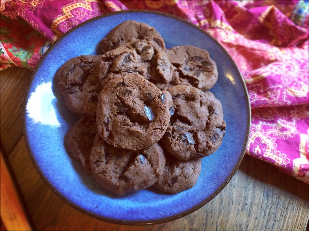 "Dorie Greenspan's World Peace Cookies seem like an appropriate fit for the article ""Food is a Way In,"" don't you think?"