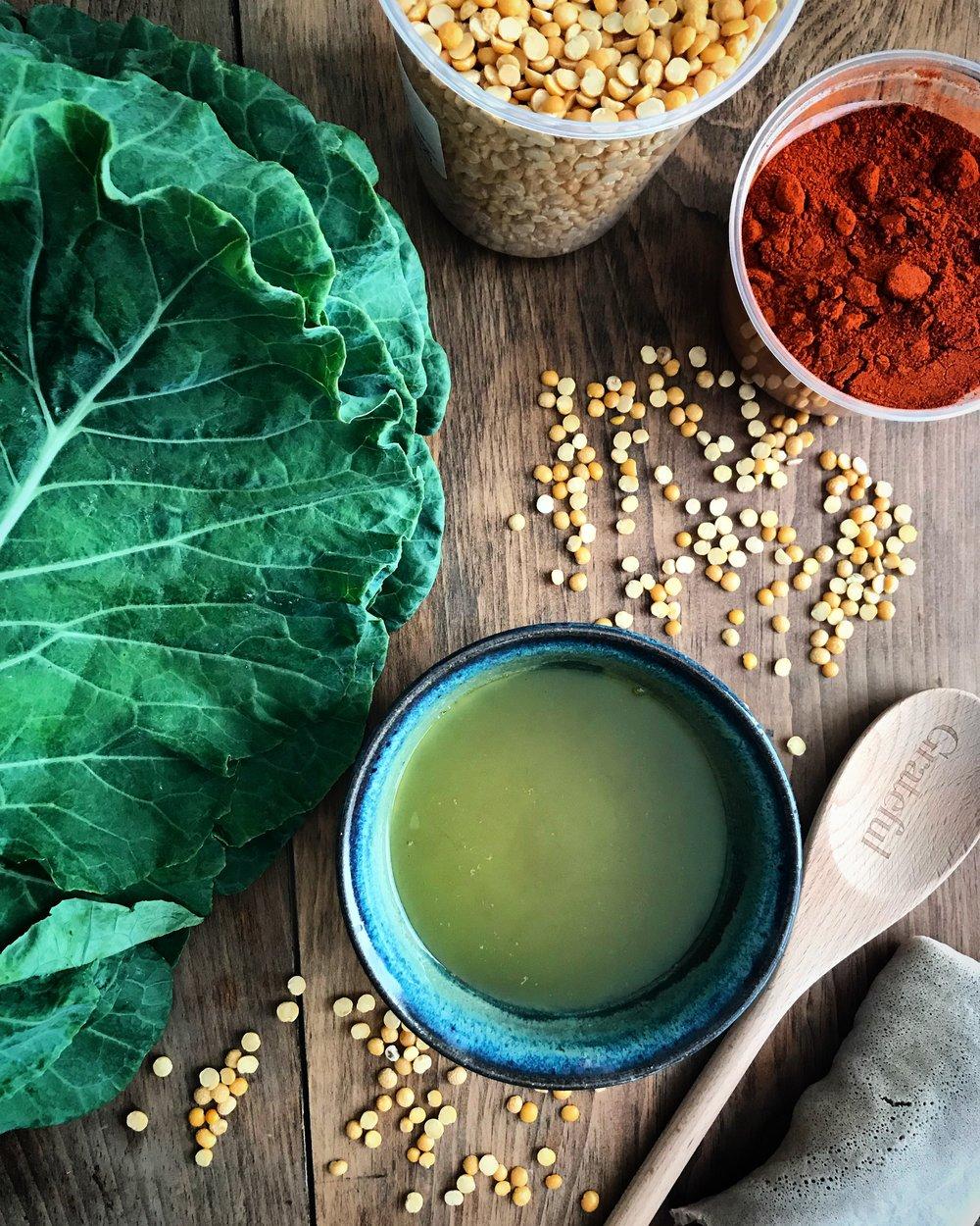 doro wat ethiopian meal ingredients
