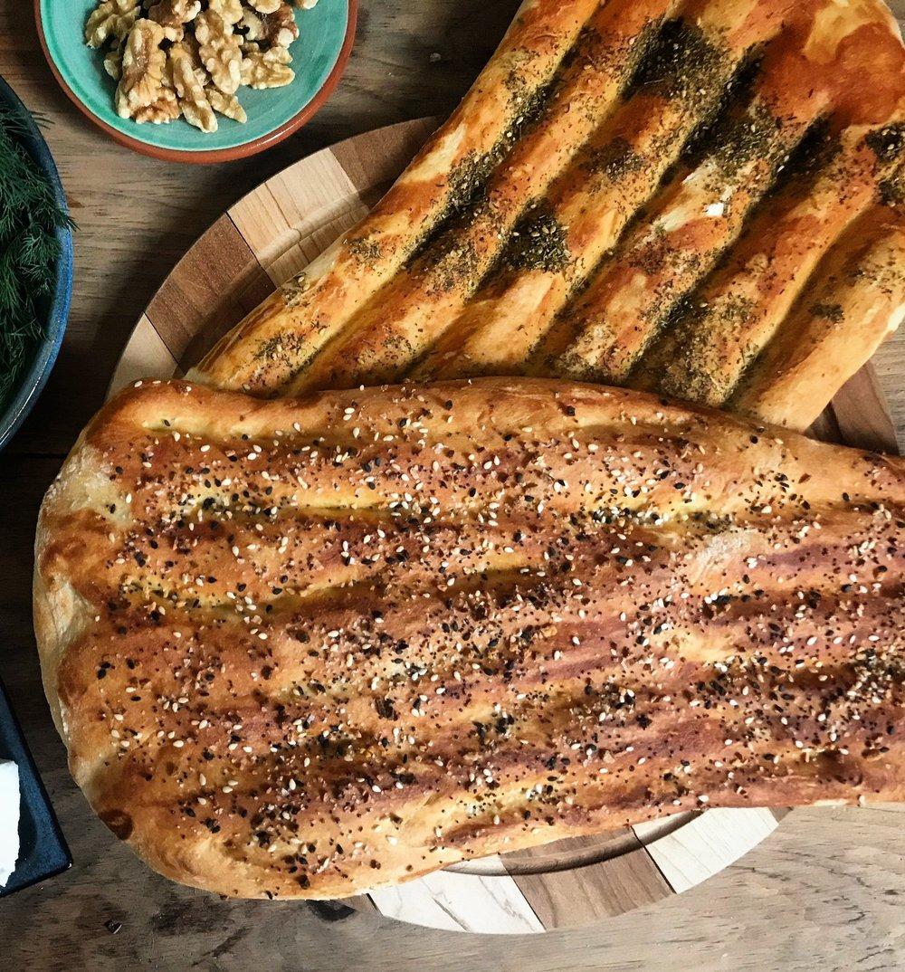 Barbari, a very thick flatbread