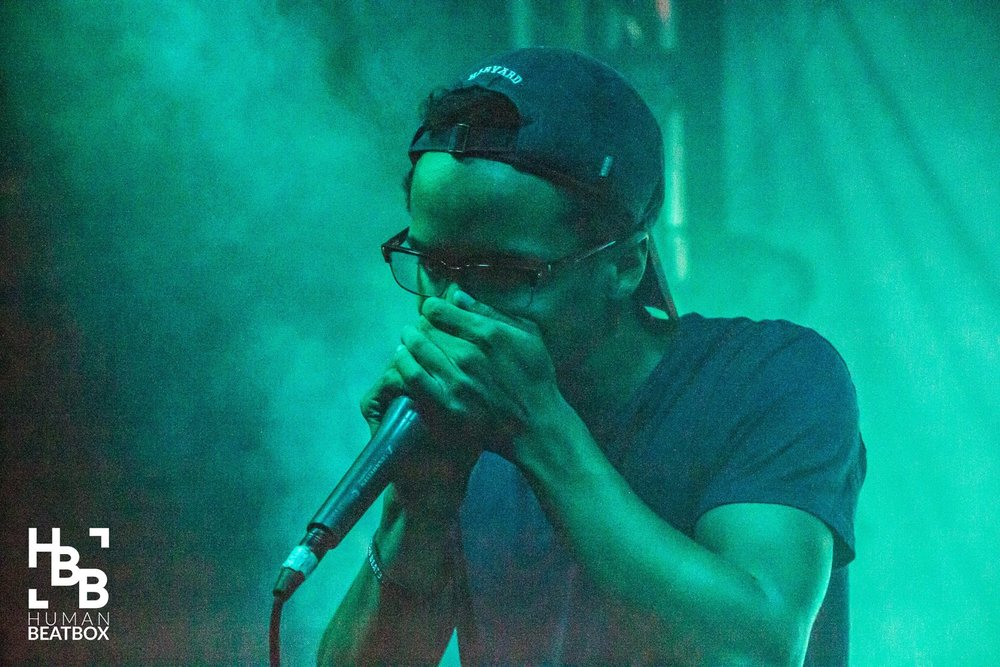 Devon Guinn at the Midwest Beatbox Battle, 2016. Credit: humanbeatbox.com