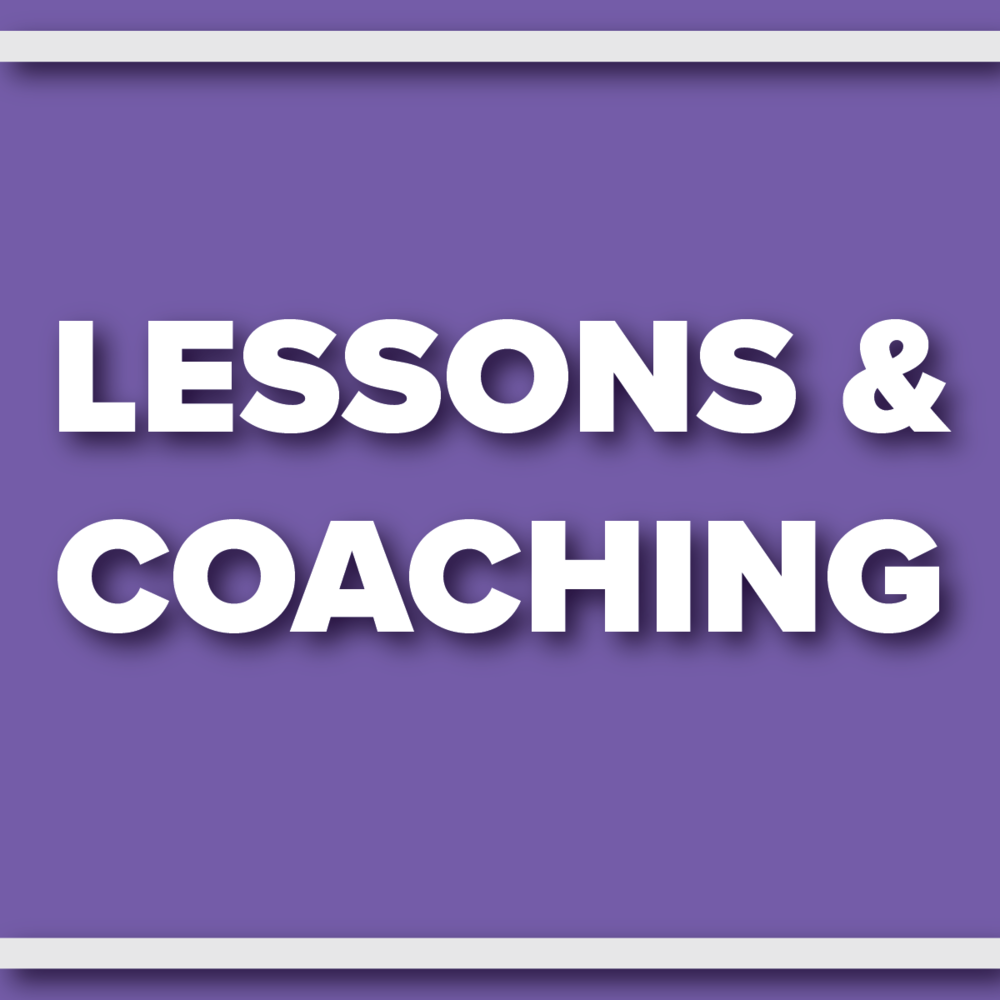 Lessons and Coaching