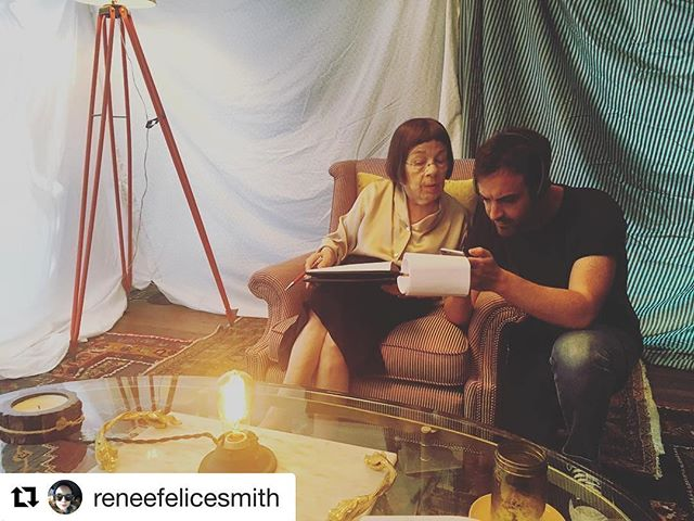 #Repost @reneefelicesmith with @repostapp ・・・ @christophergabriel with the inimitable #lindahunt #therelationtrip #day16