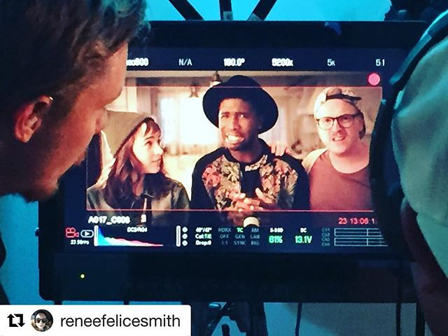 #Repost @reneefelicesmith with @repostapp ・・・ @manbgood and @owainrdavies giving face while I look on. #therelationtrip
