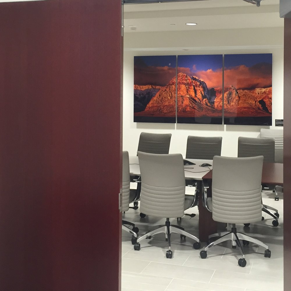 Howard Hughes Boardroom Install