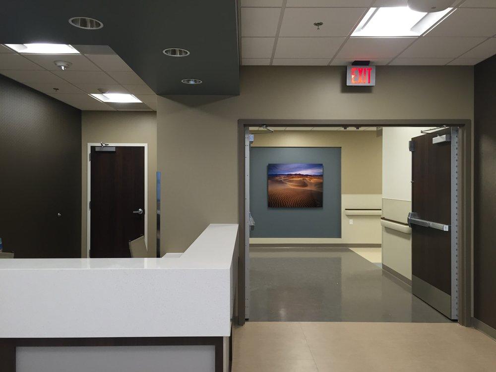 Henderson Hospital Install