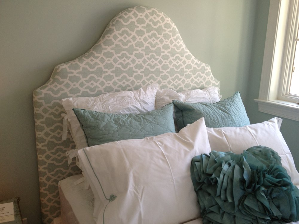 Custom Headboard & Pillows