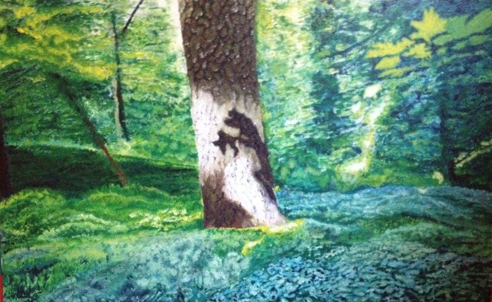 Lidcombe Wood near Stanway