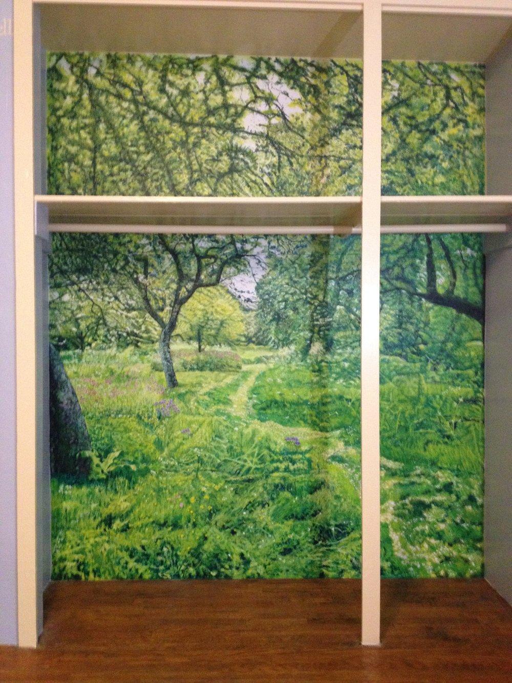 Hidcote Orchard Mural