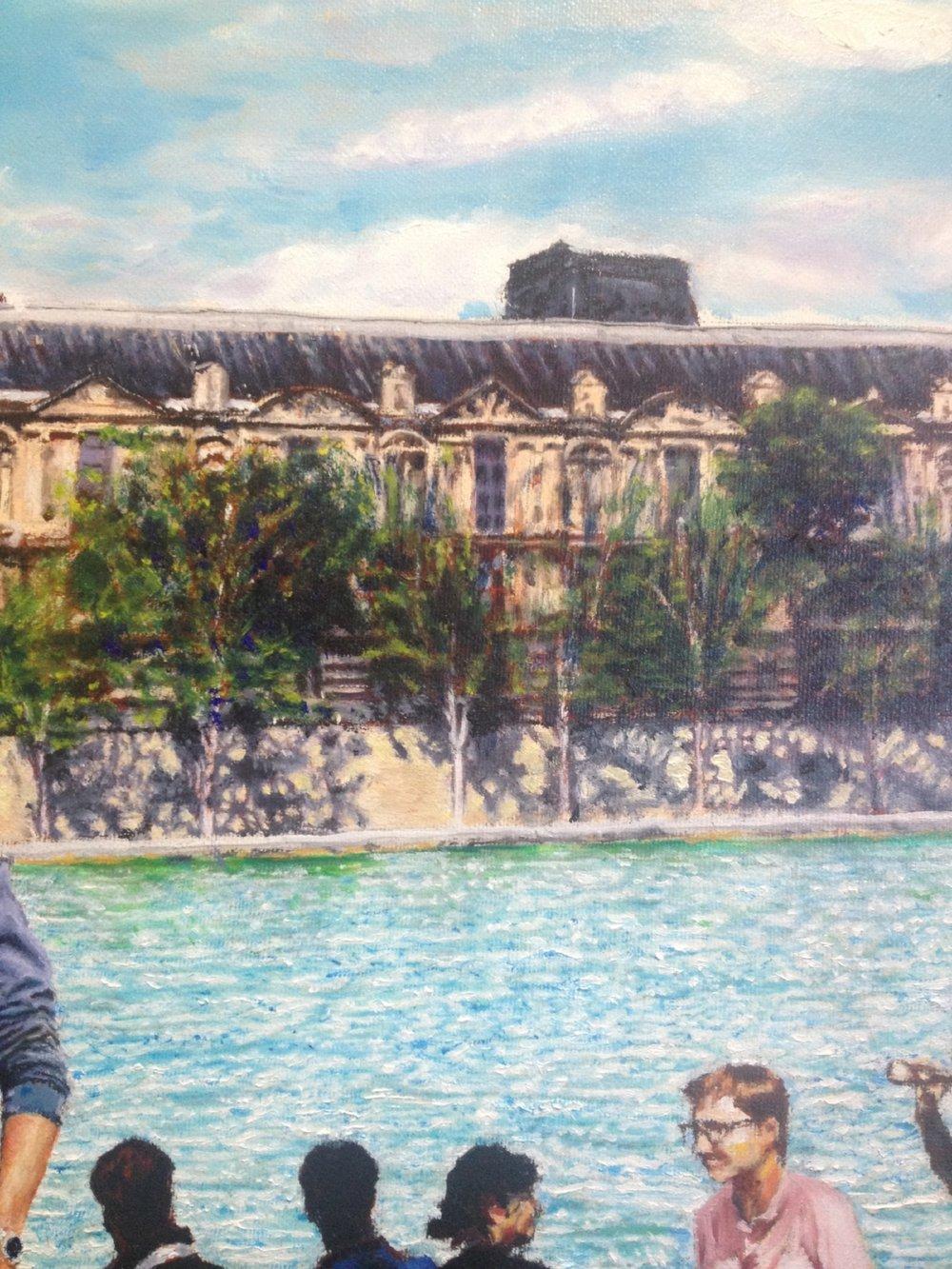 View across Seine