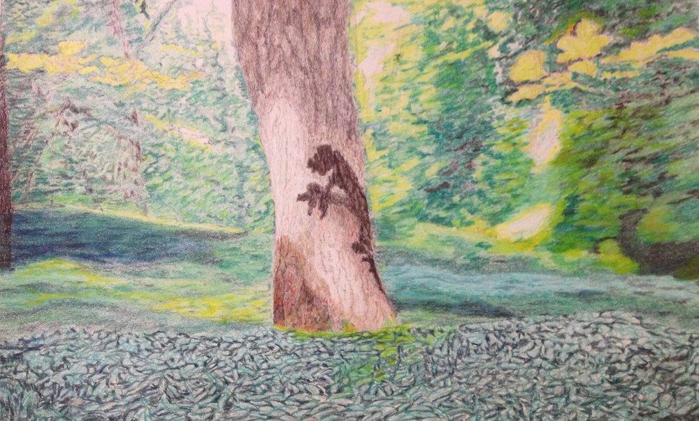 Study for Lidcombe Wood near Stanton