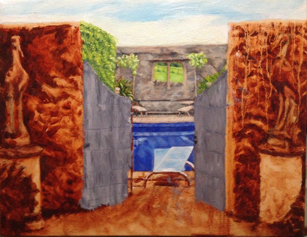 work in progress: swimming pool