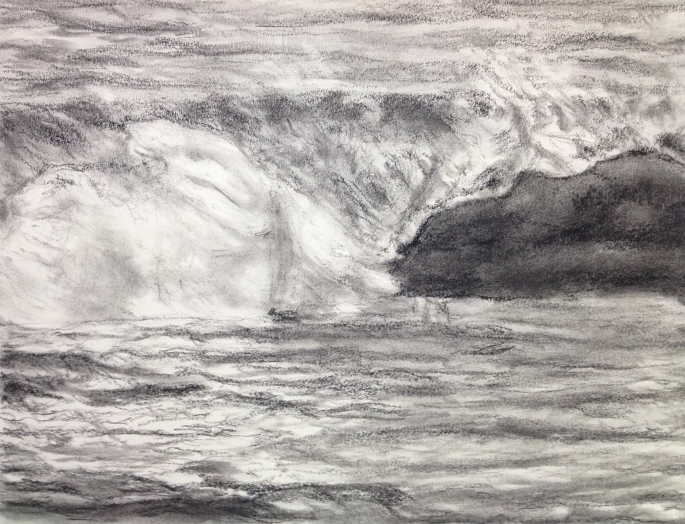 Wave at Limantour Beach
