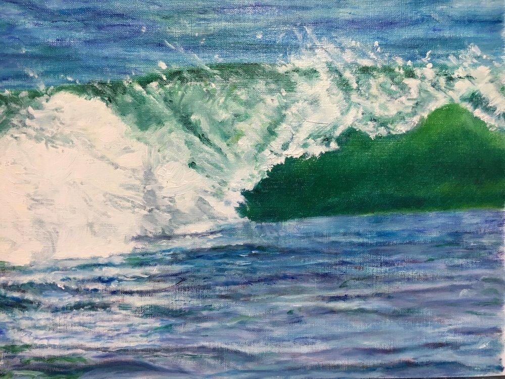 Waves at Limantour Beach