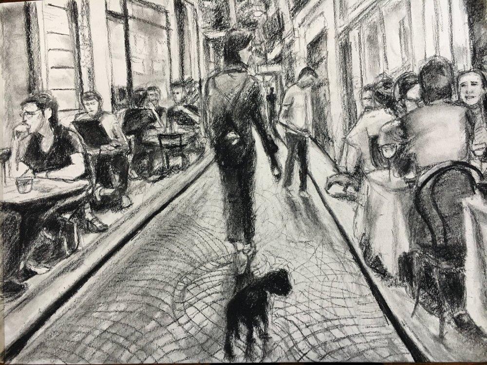 Along rue Tiquetonne