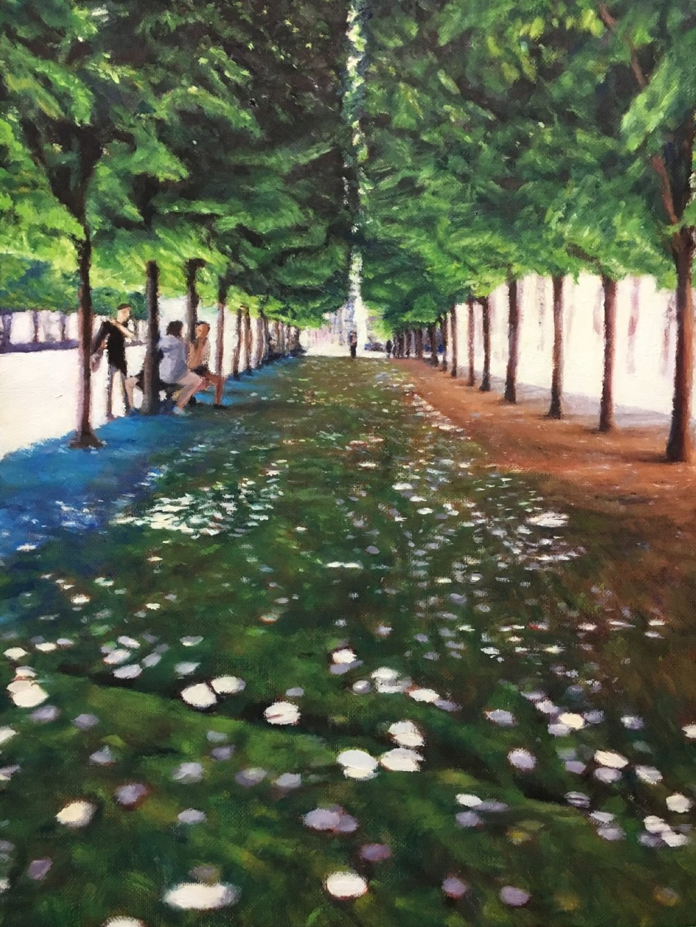 Dappled Light at Palais Royal
