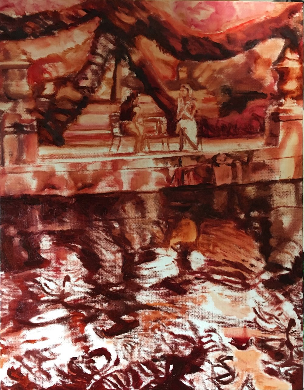 Underpainting (done on 27 July)