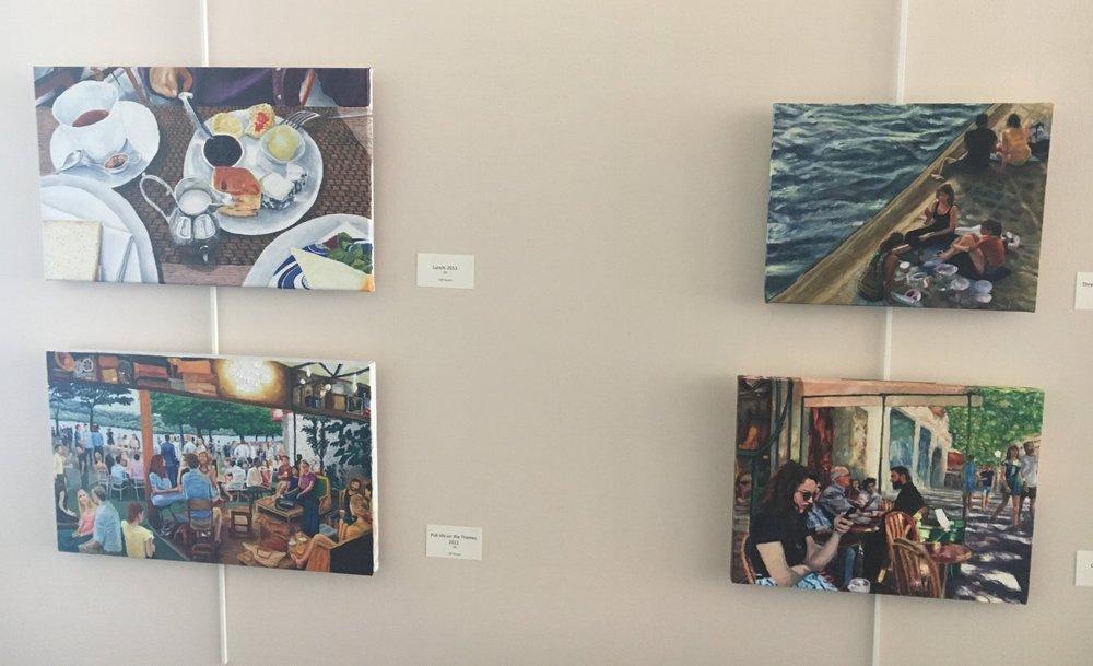 Bean scene wall - cafe life