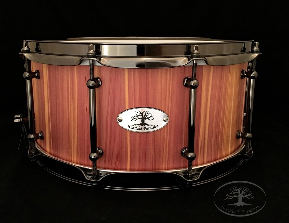 14x6.5x5/8 Aromatic Cedar  Black chrome hardware with a Natural Oil Finish