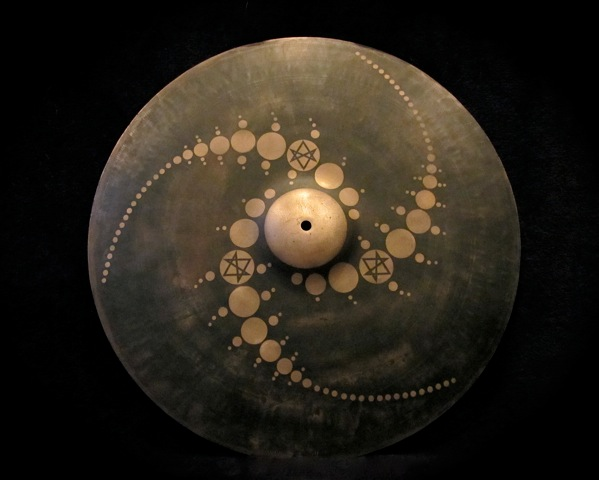 "22"" Ride Cymbal  Design By Donald Pusateri of  Schism"