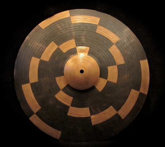 "18"" Crash Cymbal  Design by Aric Importa and Guy Juravich"