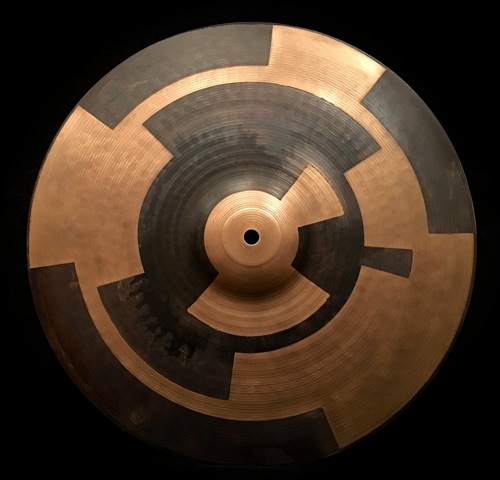 "16"" crash cymbal  Rotary design"