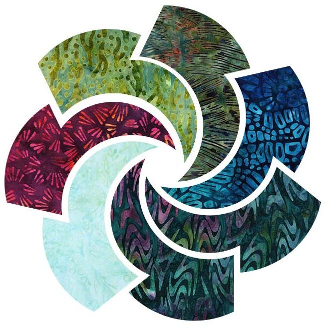 Artful Earth Batiks by Robert Kaufman Fabrics