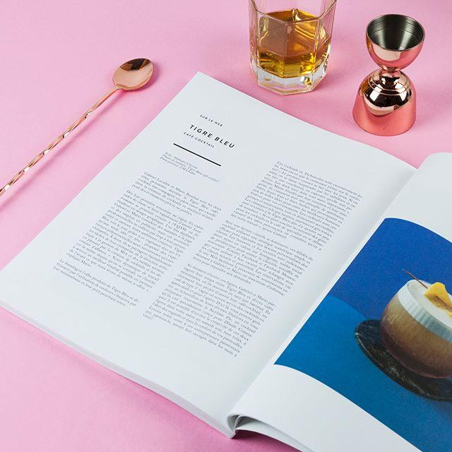 Super article sur Le Tigre Bleu café-cocktail dans le nouveau @dinettemagazine «Confetti», merci encore @stepheechick pour les beaux mots! Le mag est sur les tablettes dès aujourd'hui! 🎉🍾🥂
