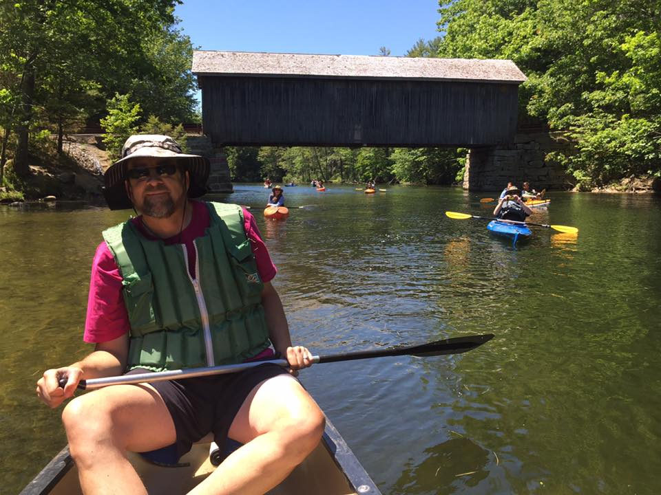 River Floats - Every summer we offer several opportunities for members of the public to paddle the waters of the Presumpscot River in partnership with professional river guides from Portland Paddle and Maine Path & Paddle Guides. Limited spots are available and registration is typically required.