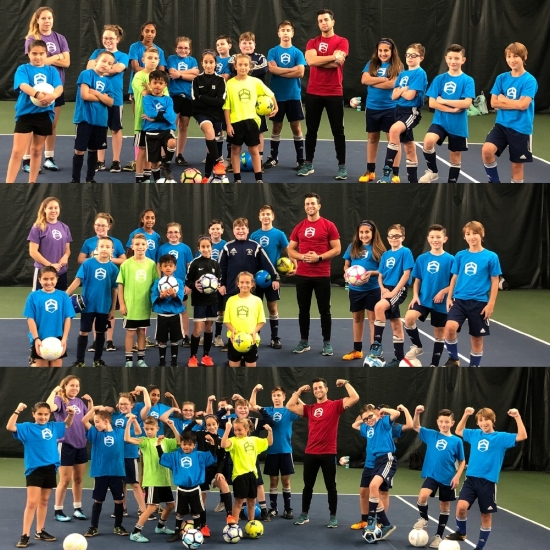 12 WEEKS OF AWESOME !!! - The 2017/18 PFA Winter Clinic at the Newington Tennis Center was such a success that we had to bring it back for 2018/19!The sessions open up with strength development to get our athletes stronger throughout their entire body, not just their soccer legs.We then work through a variety of conditioning techniques which sets the athletes ahead of their competition in the spring.Finally, we move into technical training where we focus on skill development on the ball.The last few minutes the athletes