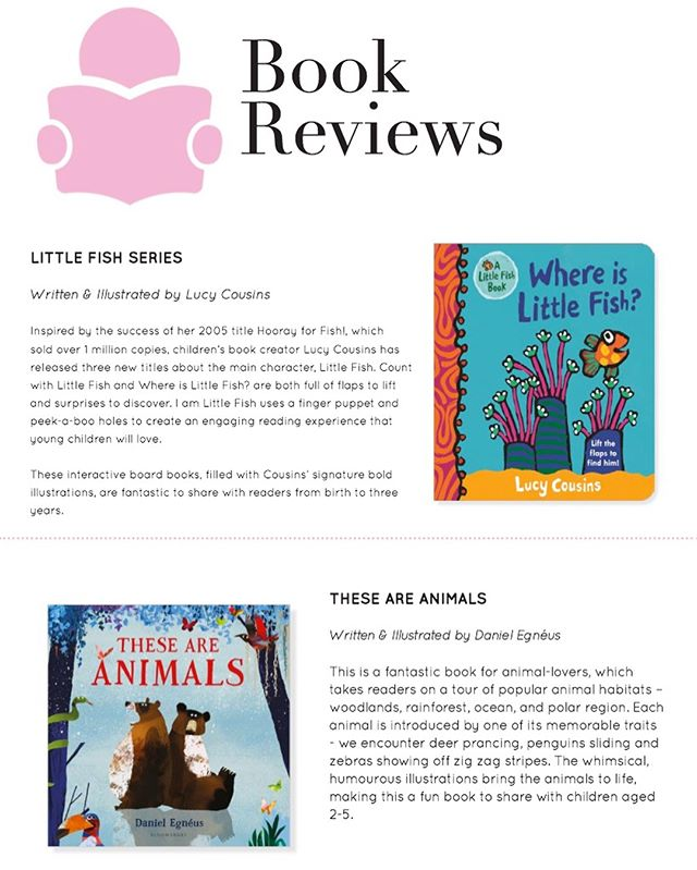 The April issue of @mychildmag is now online! Check out our latest round of book reviews, as well as fabulous feature articles and the best fashion and home decor for kids.