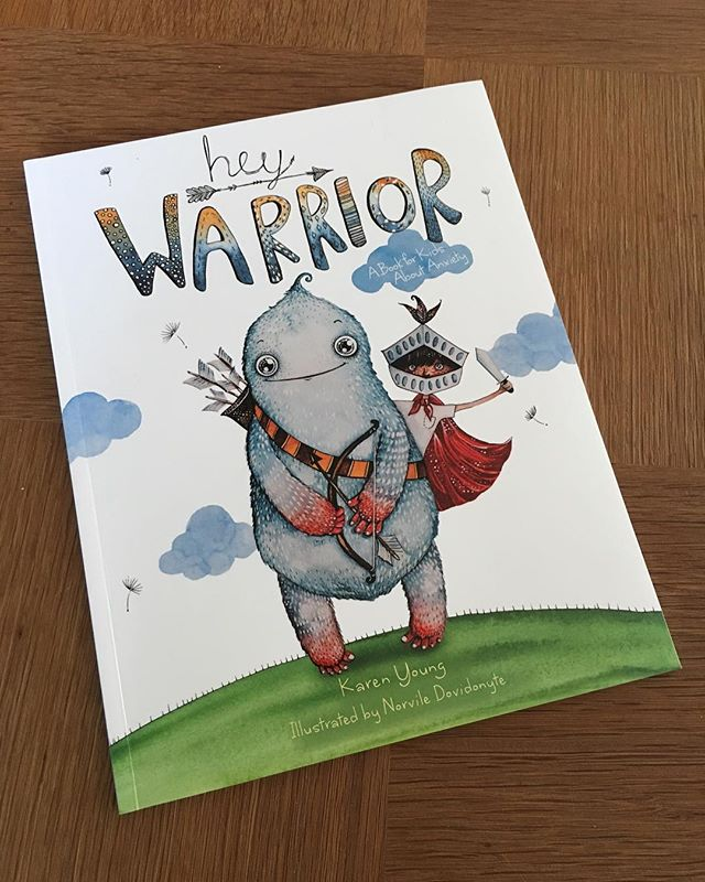 I'm always going on about how books are a great way to raise difficult issues with kids, and here's another brilliant example - 'Hey Warrior' explains in kid-friendly language what's going on in our brains and our bodies when we're feeling anxious, and gives simple strategies to help combat anxiety. Since reading this book together, my daughter has named her brain's amygdala Annabelle Sparkletastic Munchkin, and she likes to give a running commentary of the way Annabelle is helping her cope with challenging situations...#whateverworks